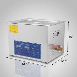 Image 4 - 15L חזק נירוסטה 15 L ליטר שואב קולי 760W דיגיטלי דוד טיימר אולטרסאונד מכונת
