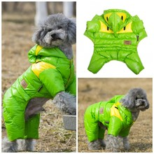 Warm Winter Snowsuit Outfit for Dogs