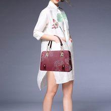 Elegant Floral Women's Shoulder Bag