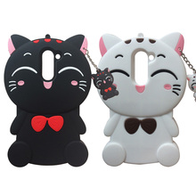 For Huawei Honor 6X Lucky Cat Soft Silicone Cartoon Cover Skin 5.5 Phone Case Back Fundas Coque