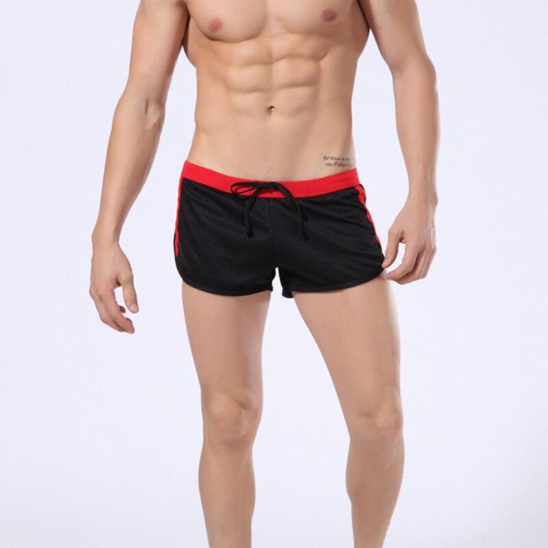 89c1b5440377 Nuevos pantalones cortos deportivos de malla para correr para hombres,  deportes, baloncesto, Surf, entrenamiento atlético, pantalones cortos  sólidos ...