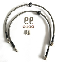 3 Pair Brake Part Brake Hose Oil Tube 45 70mm With Concave Convex Mouth For Different