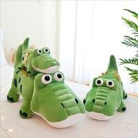 New Style Cute Cartoon Crocodile Plush Toys Stuffed Animal Crocodile Doll Toy Soft Plush Pillow Children Gifts