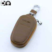 Newest Car key wallet case bag holder accessories for Mitsubishi ASX Lancer Outlander L200 Mirage i-MiEV CUV Shogun Galant Colt