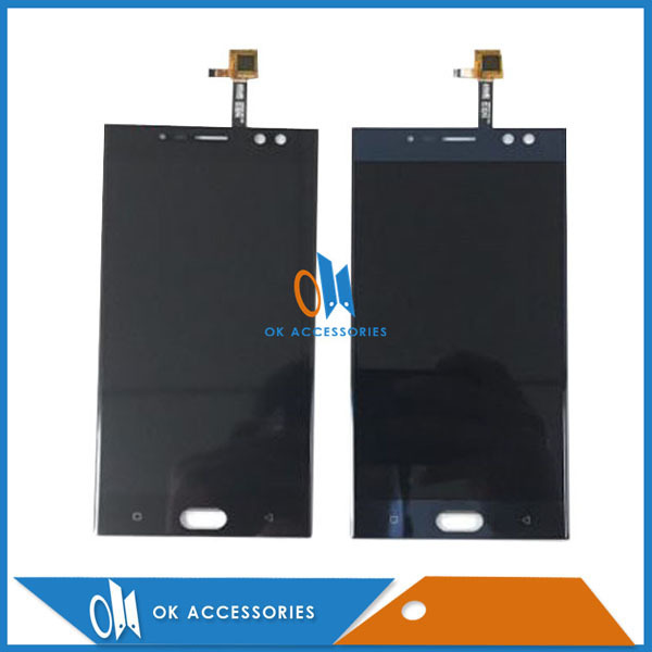 High Quality For Oukitel K3 LCD Display With Touch Screen Assembly Black Blue Color 1PC/Lot