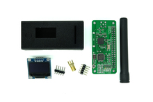New UHF / VHF MMDVM Hotspot With OLED + Antenna + Case Support P25 DMR YSF for Raspberry Pi