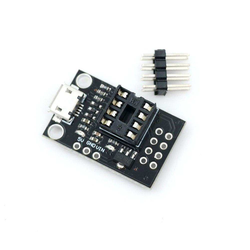 Mini ATTINY85 Micro USB Development Board For Tiny85-20PU DIP-8 IC