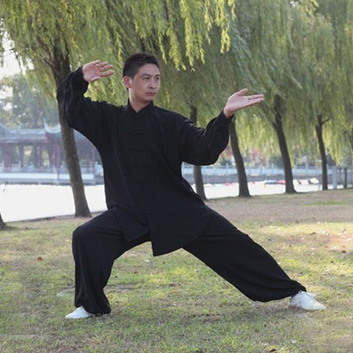Hot Sale Spring Summer Rayon Linen Women And Men Tai Chi Kung Fu Clothing Unisex Morning Exercise Suits