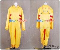 Pokemon Cosplay Pikachu Jumpsuit Kostuum H008