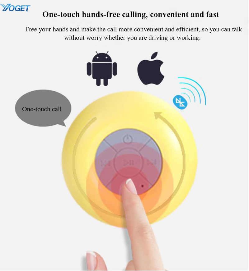 Мини Водонепроницаемый Bluetooth динамик беспроводной портативный Громкая Связь Динамик s для душа/ванной комнаты/бассейна/пляжа ducha piscina portatil