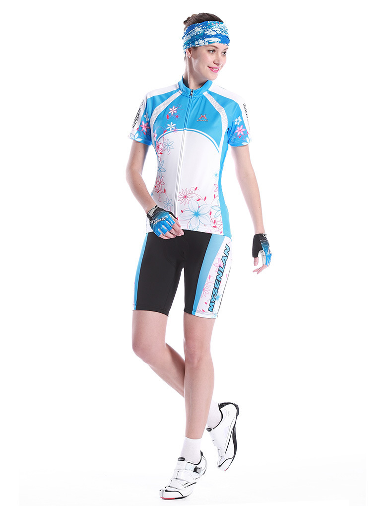 MysenLan jersey with short-sleeved suits 2017 Summer new female Bicycle riding suits  цена