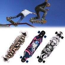 Elifine 41 zoll skateboard Maple Longboard Skateboard Erwachsenen Speed professionelle skateboard Outdoor sports skateboard rad