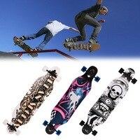 Elifine 41 inch skateboard Maple Longboard Skateboard Adult Speed professional skateboard Outdoor sports skateboard wheel