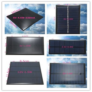Image 5 - CLAITE 12V 1.5W Mini Polycrystalline Solar Panel DIY Epoxy Solar Cells Silicon Battery Power Bank Charger Solar Module System