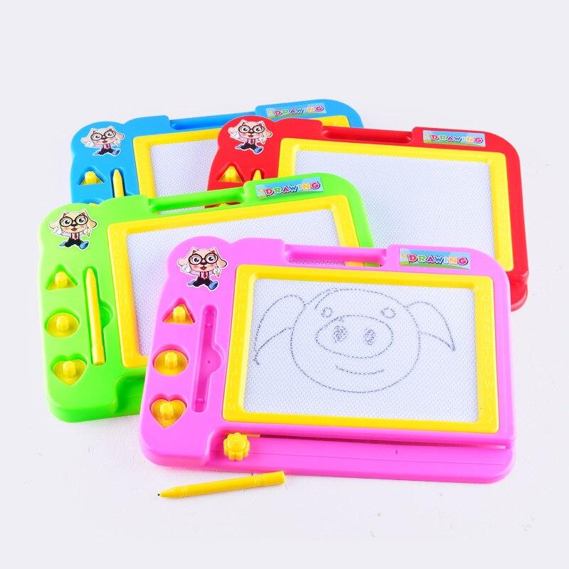 Детский набор для рисования, магнитная доска для рисования, Обучающие игрушки, доска для граффити, подарок для детей