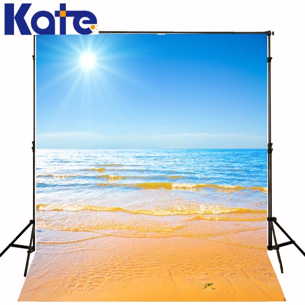 5 * 7FT Kate Custom Beach peisaj Fundaluri de fotografie Fondos - Camera și fotografia