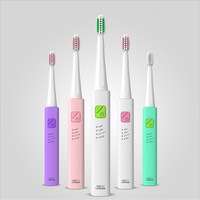 Lansung U1 USB Electric Toothbrush With 4 Heads Ultrasonic Dental Electronic Toothbrushes Oral Hygiene Electric Tooth