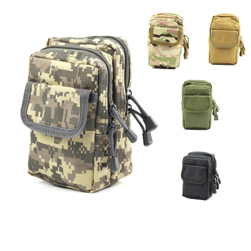 1 Pc Edc équipement De Plein Air Militaire Tactique Sac à Dos Unisexe Taille Sac Pack Sac à Bandoulière Camping Camouflage Chasse Sac à Dos Pure Blancheur