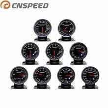 """CNSPEED 2,"""" 60 мм Датчик наддува выхлопных газов датчик температуры автомобиля давление масла Температура воды Температура масла напряжение белый"""