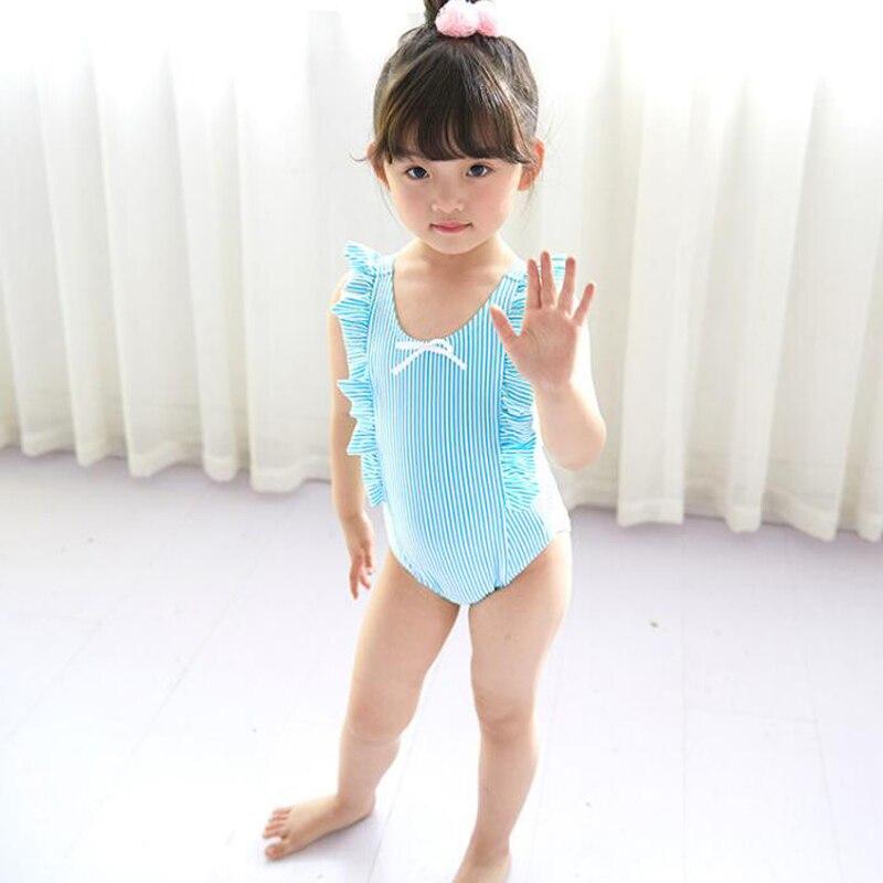 Nieuwste Leuke Baby Meisje Badmode Een Stuk Kids Meisjes Badpak Kid - Babykleding - Foto 2