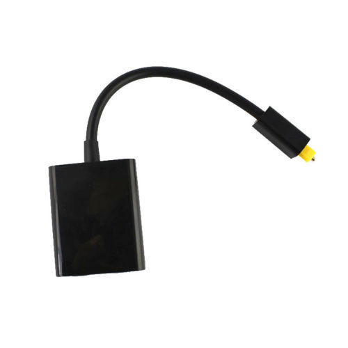 Micro Usb Cable Accessory Black Mini USB Digital Toslink Optical Fiber  Audio 1 to 2 Female Splitter Adapter 750e682f8c68f