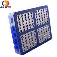 רפלקטור כפול שבב 1200 W LED לגדול אור 120x10 W ספקטרום מלא שתילה הידרופוני חינם