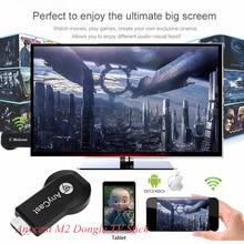 Anycast M2 MiraScreen Smart TV Bâton Dongle EasyCast WiFi Affichage Récepteur DLNA Airplay Miracast Airmirroring Chromecast EZCast
