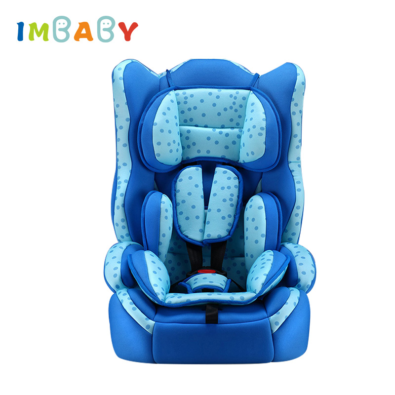 IMBABY Forward Facing Child Car Seat Group 1/2/3 (9-36 kg) Five-Point Harness Baby Booster Safety Seats 9 Month - 12 Years Old child car safety seat 9 month 12 years old baby protection auto car seat forward facing 9 36 kg five point harness safety seats page 1