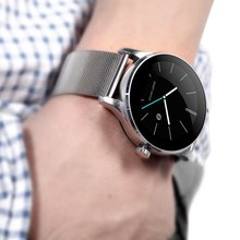 Hiwego Brand K88H Bluetooth Smartwatch Heart Rate Monitor Remote Camera Push Messages For Android IOS MTK2502C Smart Watch
