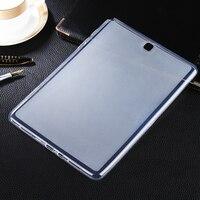 보호 커버 스킨 samsung galaxy tab a 9.7 t550 t555 p550 p555 태블릿 case 소프트 매트 tpu 젤 실리콘 커버