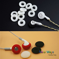 10pairs Foam Earbud earphone ear buds Headphone Ear pads cushion Replacement Sponge Covers Tips For Earphone Hollow headphones
