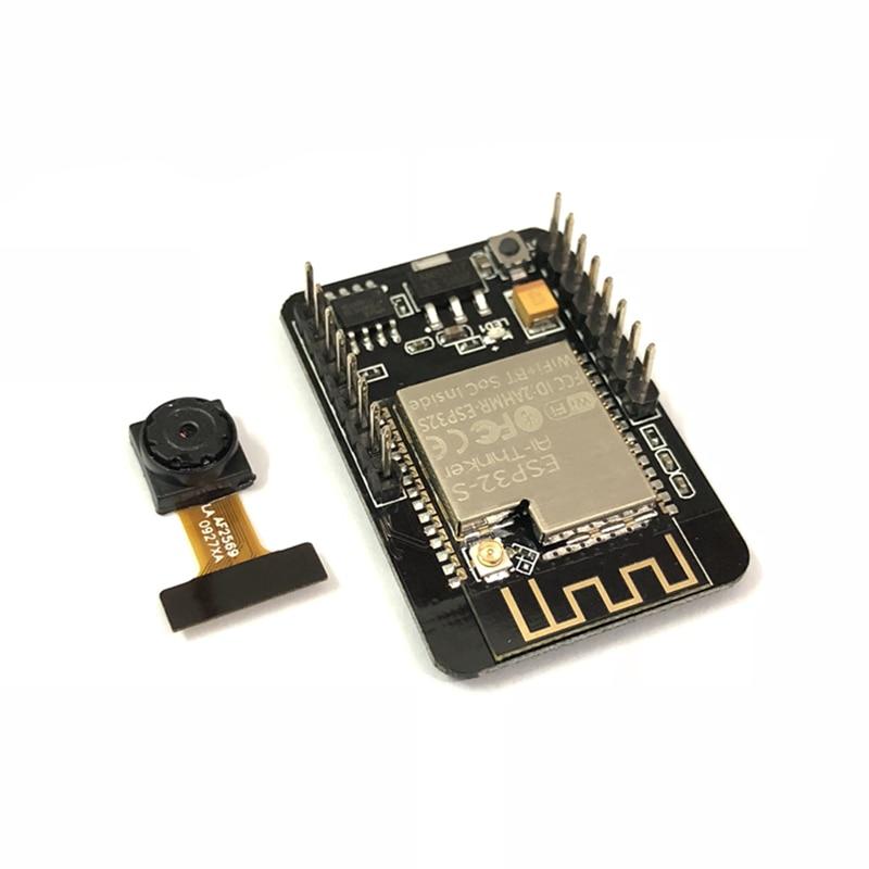 100% nowy zestaw 10 ESP32 CAM WiFi + moduł bluetooth moduł kamery pokładzie rozwoju ESP32 z moduł kamery OV2640 2MP w Moduły aparatu do telefonów komórkowych od Telefony komórkowe i telekomunikacja na AliExpress - 11.11_Double 11Singles' Day 1