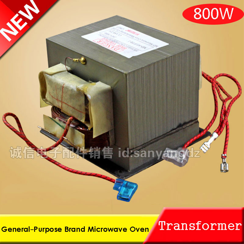 800W Microwave Oven High Voltage Transformer New Brand General-Purpose Original 10pcs high voltage fuse for microwave oven 0 9a yb
