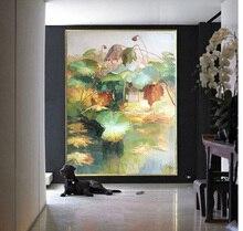 לוטוס יד פרח ציור