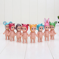 8pcs Lot Sony Angel Action Toy Figures Christmas Little Gift