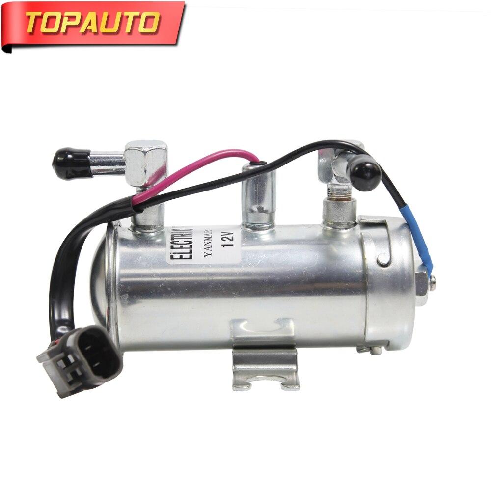 TopAuto 12 v 24 v pompe électronique huile pompe à essence moteur Diesel pour Modification pelle pour voitures camion caravane
