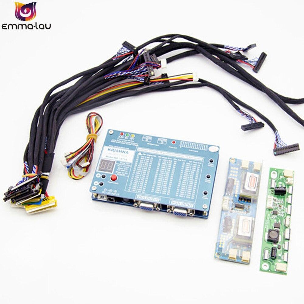 2018 ordinateur portable TV/LCD/écran LED outil de Test panneau testeur Support 7-84 pouces 3 V/5 V/12 V écran avec bande haute tension 14 ligne d'écran