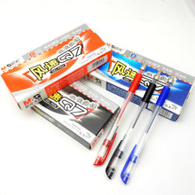 12pcs/lot premium 0.5mm gel pen excellent writing easily grip 3 colors option high quality stationery hot sale M&G Q7