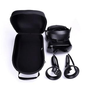 Image 1 - Harde EVA Reizen Draagtas Tas voor Samsung HMD Odyssey Windows Gemengde Werkelijkheid Headset en 2 Draadloze Controllers Opbergdoos