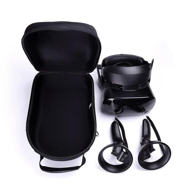 Harde EVA Reizen Draagtas Tas voor Samsung HMD Odyssey Windows Gemengde Werkelijkheid Headset en 2 Draadloze Controllers Opbergdoos