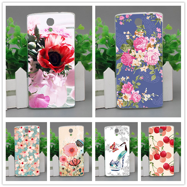 For <font><b>Homtom</b></font> HT7 Phone Case <font><b>10</b></font> Patterns painted DIY colored Cover soft tpu Case for <font><b>Homtom</b></font> HT7 Beautiful flowers design Case image