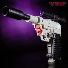 2018 New KBB33023 Transformation G1 TF KBB MPP36  Hand Make Assembly Gun Model Action Figure Robot Boys Gift Collection Toys