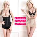 Hot Women Shaperwear 6 Hooks Waist Cincher Steel Bone Waist Trainer Black Lace Vest Waist Belt Corsets Slimming Body Shapers