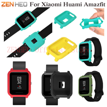 Protect Frame Sotf Silicone Watch Case Cover for Xiaomi Amazfit Bip BIT PACE Lite Youth Watch Shell For Xiaomi Huami Amazfit цена и фото