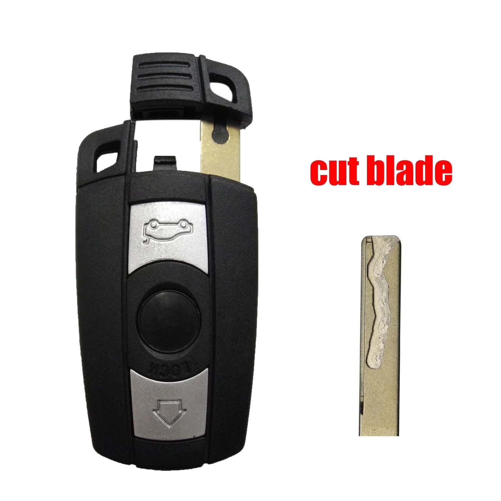 Bmw Car Key Cutting: Jingyuqin Cut Blade Remote Smart Car Key Blade Fob For BMW