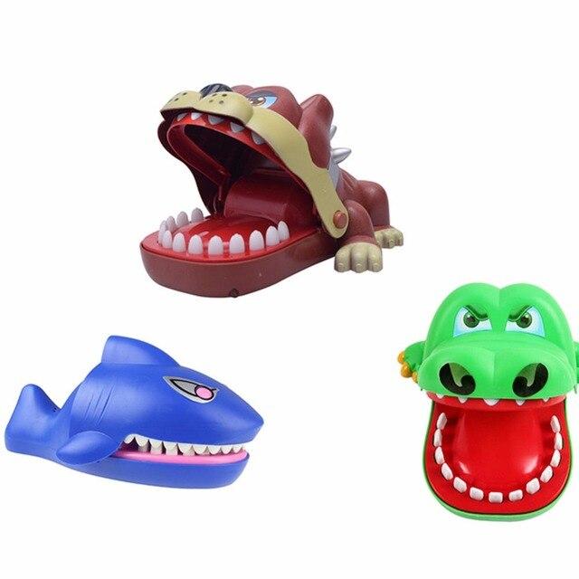 ec2938331 ألعاب ترفيهية القرش بلدغ تمساح طبيب الأسنان لدغة فنجر لعبة الأسرة الجدة ضد  الإجهاد مضحك المفزع