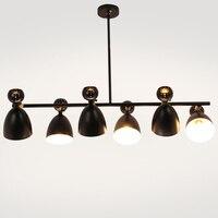 New Nordic Design Pendant Lights With Metal Lampshade Lamparas Colgantes hanglamp Modern Wood Hanging Lamp E27 Suspension Light