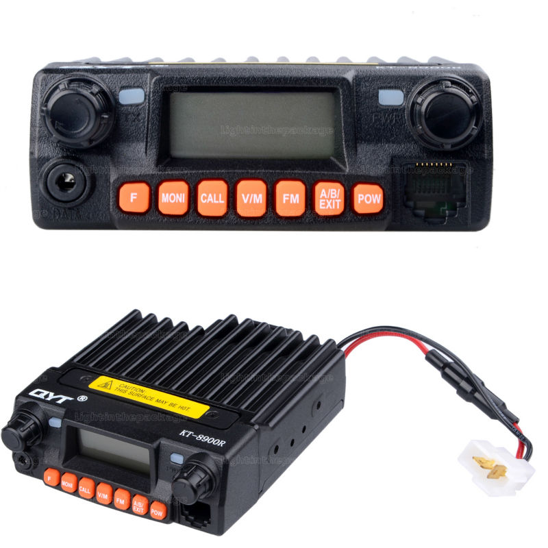 NEW QYT KT-8900R KT8900R Mini Mobile Radio Tri Band 136~174MHz 240-260MHz 400~480MHz with cheap price Free Shipping (5)