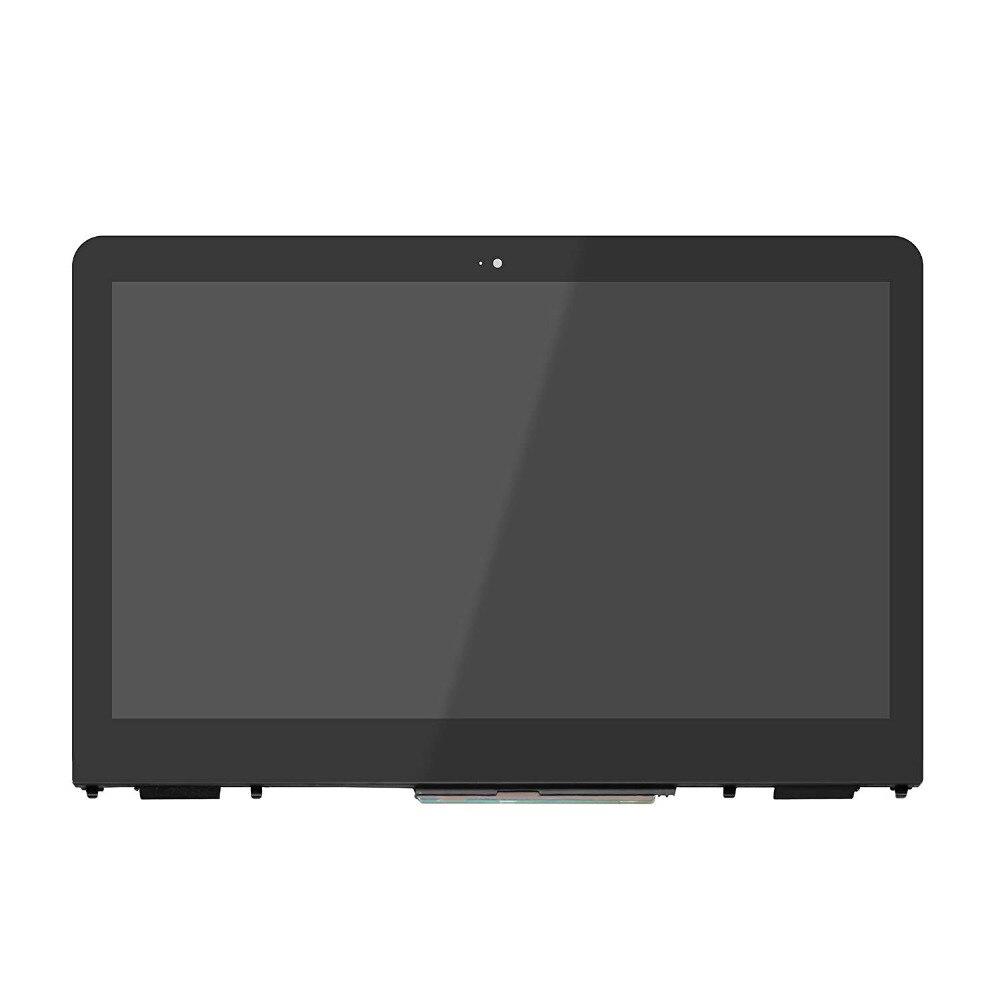 """856018-001 856019-001 assemblée de numériseur d'affichage d'écran tactile pour 13.3 """"HP X360 13-U HD + FHD moniteur de lunette de panneau d'affichage à cristaux liquides"""