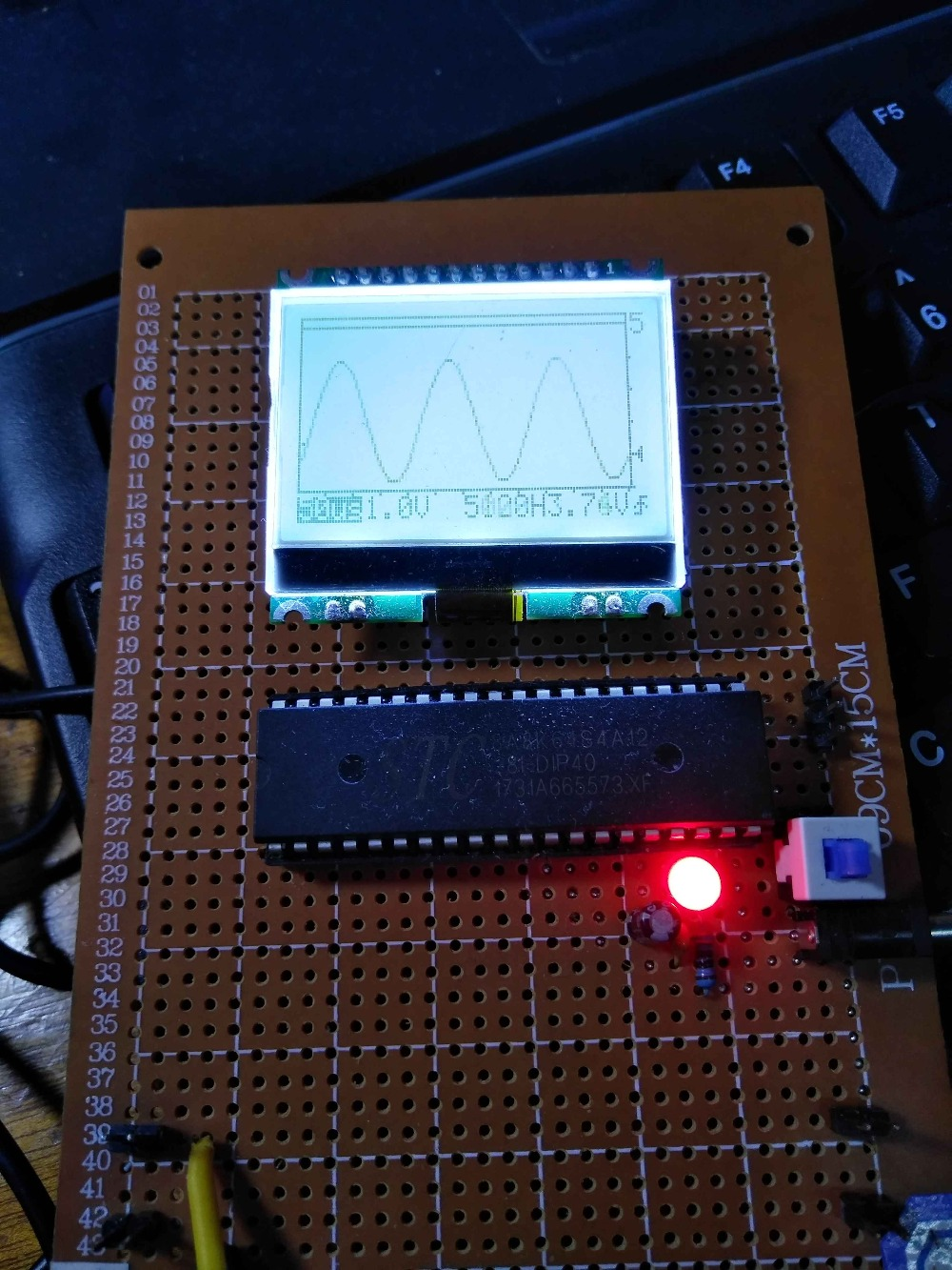 Design of Single-chip Microcomputer Course Based on 51 Single Chip Microcomputer Oscilloscope цена и фото